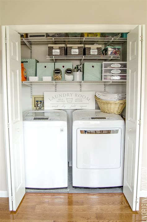 multi purpose laundry closet organization solutions
