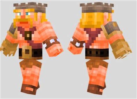 barbarian king clash  clans skin azminecraftinfo