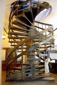 How, To, Build, Spiral, Stairs