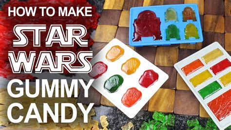 how to make gummy bears how to make star wars themed gummies using melted gummy