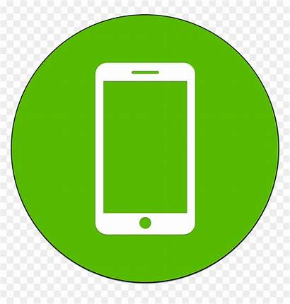Mobile Icon Icons Phone Recharge Cell Vhv