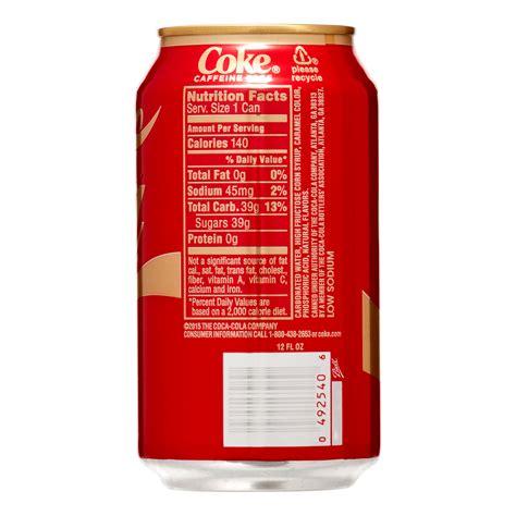 Carbonated water high fructose corn syrup caramel color coffee powder natural flavors phosphoric acid caffeine sodium benzoate (to protect taste) potassium sorbate sucralose. How much caffeine in coca cola 12 oz - ALQURUMRESORT.COM