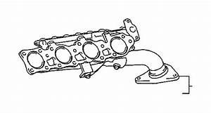 Toyota Tundra Exhaust Manifold  Engine