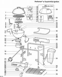 Weber Performer Parts Diagram