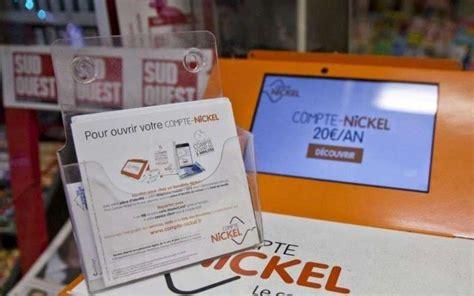 banque dans les bureaux de tabac bnp paribas rachète le compte nickel distribué par les