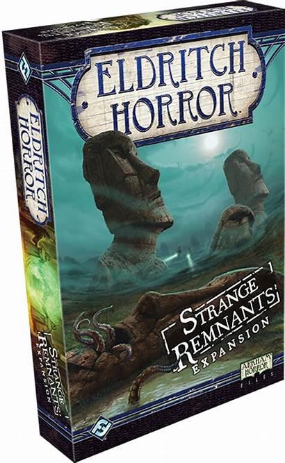 Eldritch Horror Remnants Strange Bundle Expansion Signs