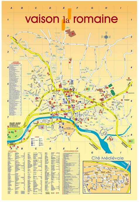 Mairie Ville De Plan De Plan De La Ville Vaison La Romaine Villa La Provence