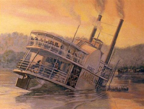 Steam Boat Old by Steamboat Arabia Was Hiding A Truly Unbelievable Treasure