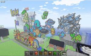 14 incredible pokemon inspired minecraft builds