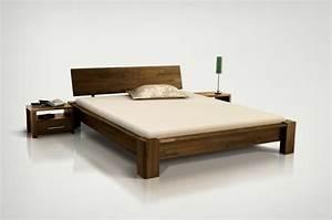 Lit Bois Massif Ikea : lit deux places en bois ~ Teatrodelosmanantiales.com Idées de Décoration