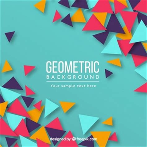 Abstract Geometric Shapes Background by Geometry Vectors Photos And Psd Files Free