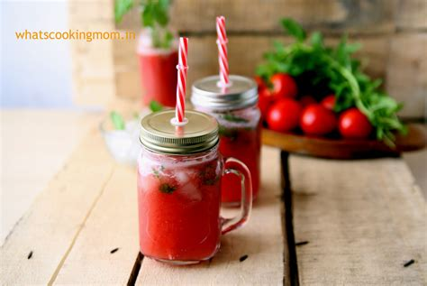 juice tomato drink homemade fresh cooking mom sip summer