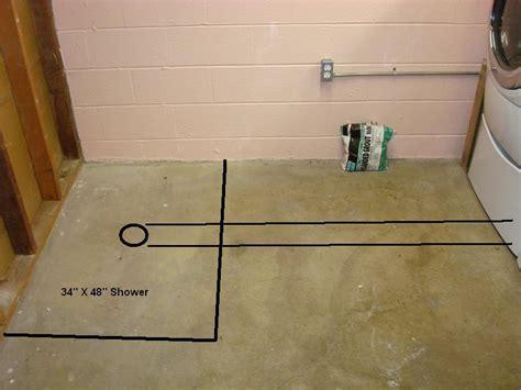 Installing Shower In Basement   Plumbing   DIY Home
