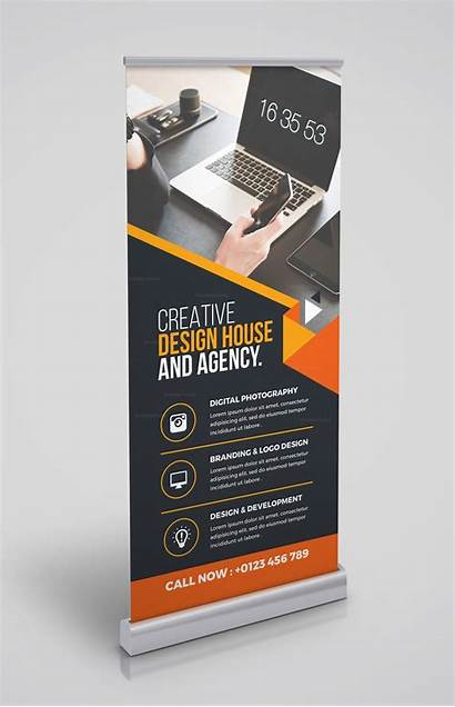 Banner Rollup Template Versatile Roll Graphic Templates