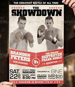 20 electrifying print ready sports flyer templates With boxing poster template free