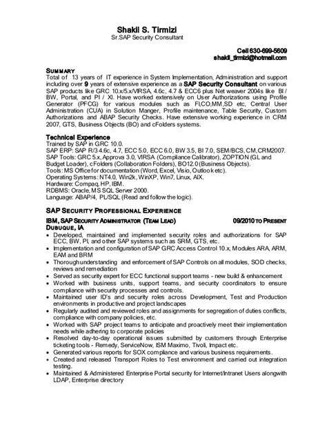 Sap Sd Resume by Sap Sd Professional Resume Persepolisthesis Web Fc2