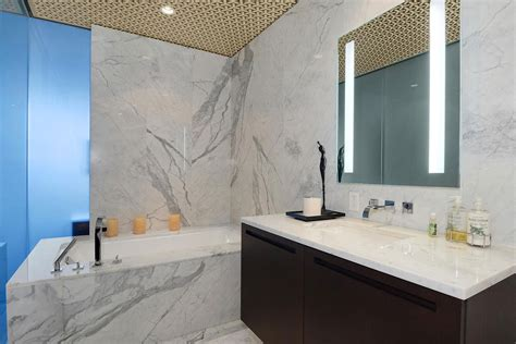 grey marble tiles bath tub beautiful apartment with