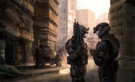 Halo 3 Odst Concept By Isaac Hannaford X Post R