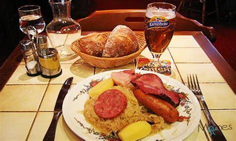 acheter cuisine en allemagne la gastronomie allemande momes
