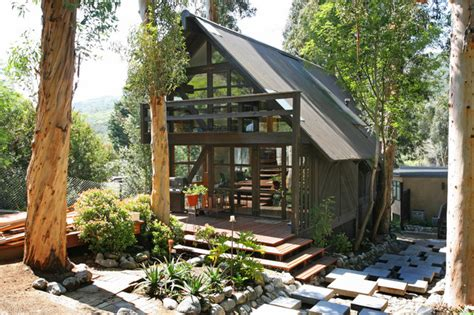 living in a shed outdoor living contemporary garage and shed other