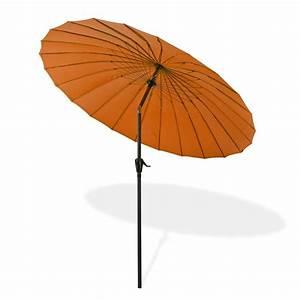Sonnenschirm 2 M Durchmesser : sonnenschirm sonnenschutz tokio rund 2 5 m terracotta ~ Markanthonyermac.com Haus und Dekorationen