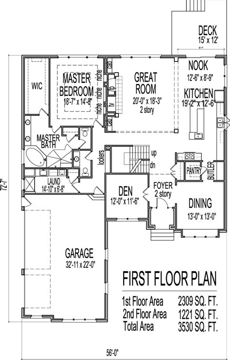 house drawings bedroom story house floor plans basement