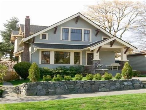 style bungalow home plans craftsman bungalow style home exterior craftsman house