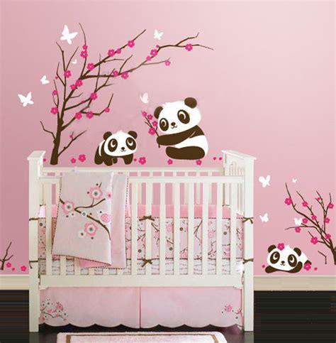 chambre bébé panda 25 idées stickers pour décorer la chambre de votre bébé