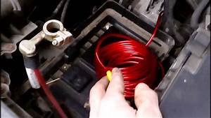 A Place For Amplifier Wire On Firewall Vw Passat B6