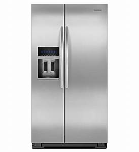 kitchenaidr 26 cu ft standard depth side by side With kitchenaid architect ii refrigerator