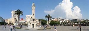 Izmir Clock Tower Is A Historical Clock Tower Located At ...