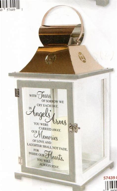 memorial angels arms lantern large shirley family gifts