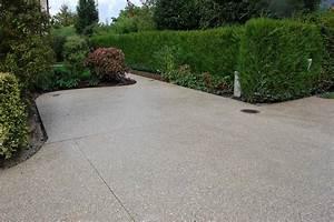 Allée Carrossable En Béton : allee beton great terrasse extrieure en bton des ~ Premium-room.com Idées de Décoration
