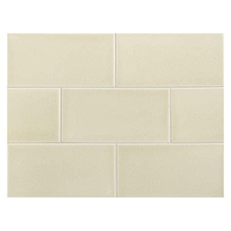 vermeere ceramic tile linen crackle 3 quot x 6 quot subway tile