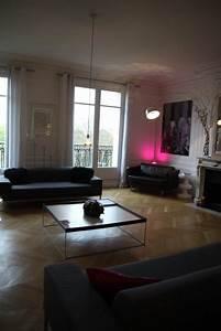 Décoration Appartement Moderne : deco photo parquet et appartement haussmanien epure sur ~ Nature-et-papiers.com Idées de Décoration