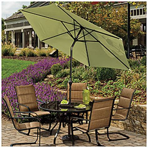 view wilson fisher 174 palm 9 steel market umbrella deals