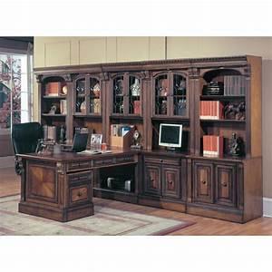 Schrankwand Mit Integriertem Schreibtisch : b ro schrankwand mit schreibtisch und home office m bel ~ Watch28wear.com Haus und Dekorationen