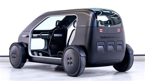 Electric Car Vehicle by Biomega Electric Vehicle Is Radically Simple Curbed