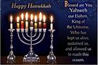 Happy Hanukkah 2019 Quotes, Sayings & Poems ~ Happy ...