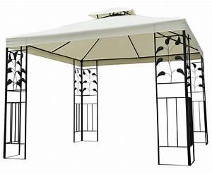 Pavillon Für Garten : garten pavillon gazebo 3x3m online shop gonser ~ Michelbontemps.com Haus und Dekorationen