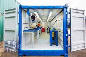 best 25 shipping container workshop ideas on pinterest With shipping container garage as your storage garage