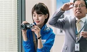 """Lee Jong Suk Is Flustered By Suzy In """"While You Were ..."""