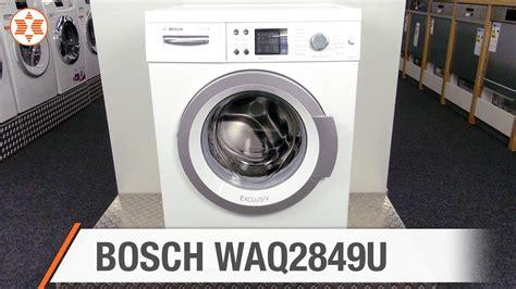 Bosch Waschmaschine Fehler Löschen by Bosch Waschmaschine Waq2849u Jubil 228 Ums Angebot Der Woche