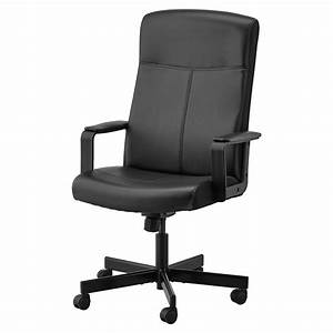 Millberget, Bomstad, Black, Swivel, Chair