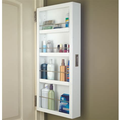 Half Cabinet by The Back Of The Door Cabinet Half Hammacher Schlemmer