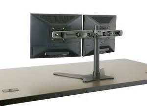 dual monitor stand multi monitor stand electric motorized tx usa