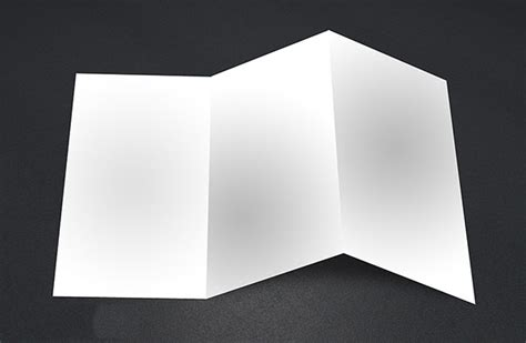 blank tri folder brochures psd vector eps jpg