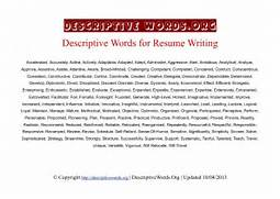 Adjectives For Resumes Adjectives For Resume Building EBook Database Adjectives For A Cover Letter Resume Template Example Best Executive Resume Format 2016 EBook Database