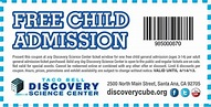 Free Kid Admission to BubbleFest at Discovery Science ...