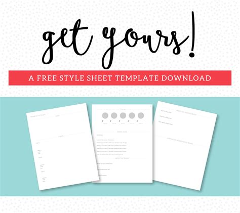 style sheet template creating a style guide for your brand and why you need one ruby and sass graphic design